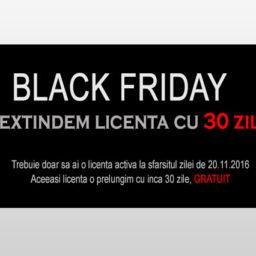 BlackFriday Program Facturi - 30 zile GRATUIT